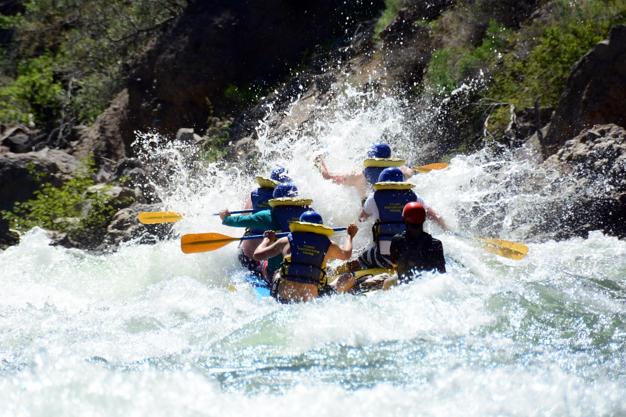 Middle Fork American River: Tunnel Chute 2 Day (Class III
